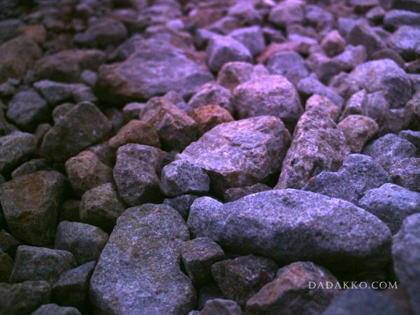 石畳の向こう側