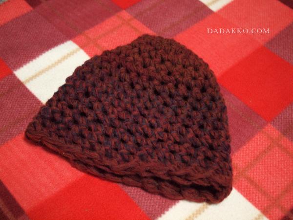 指編み帽子